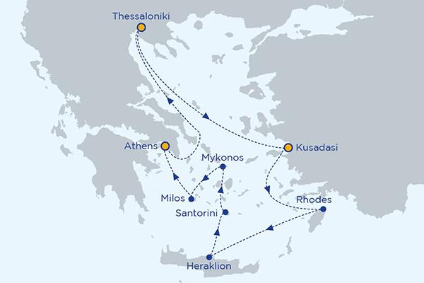 7 day cruise eastern mediterranean islands