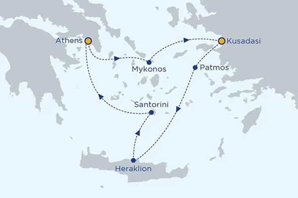 Greek Islands Cruises Cruises Visiting Greece Amp Turkey